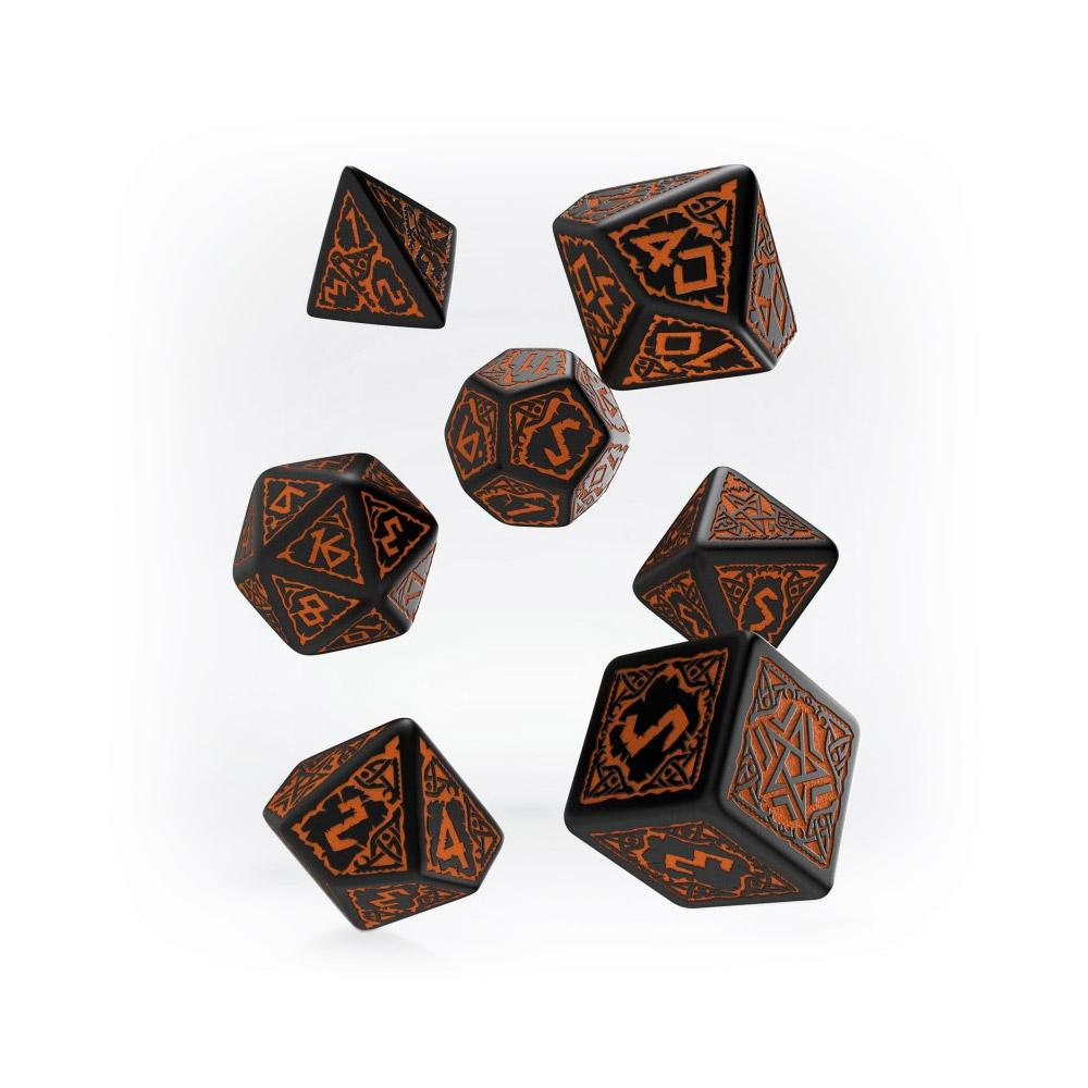 Pathfinder 7 Dice Set - Hell's Vengeance - Imaginary Adventures