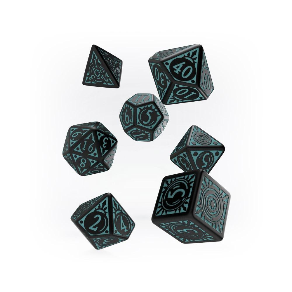 Pathfinder 7 Dice Set - Iron Gods - Imaginary Adventures