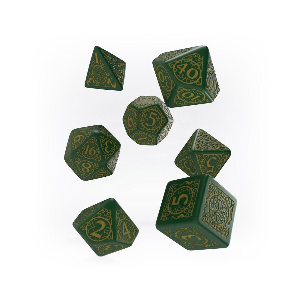 Pathfinder 7 Dice Set - Jade Regent - Imaginary Adventures