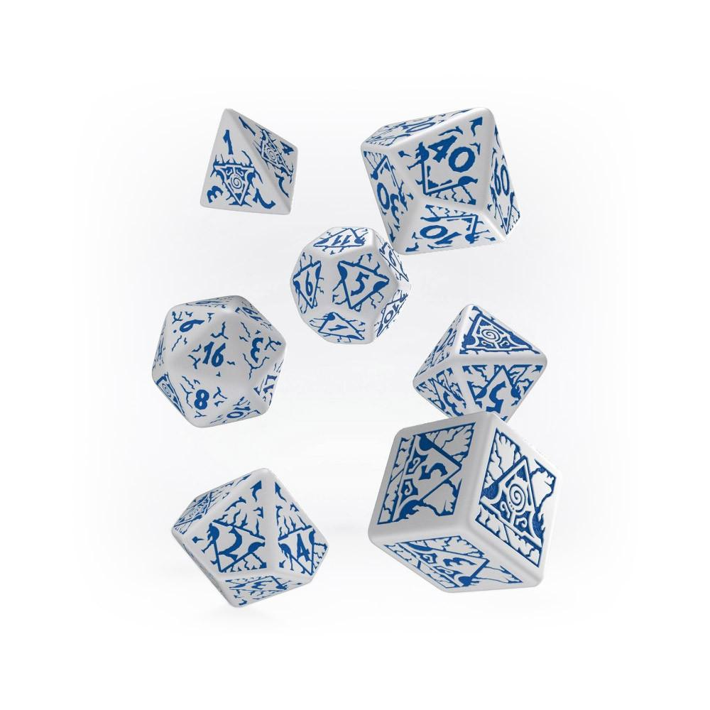 Pathfinder 7 Dice Set - Reign of Winter - Imaginary Adventures