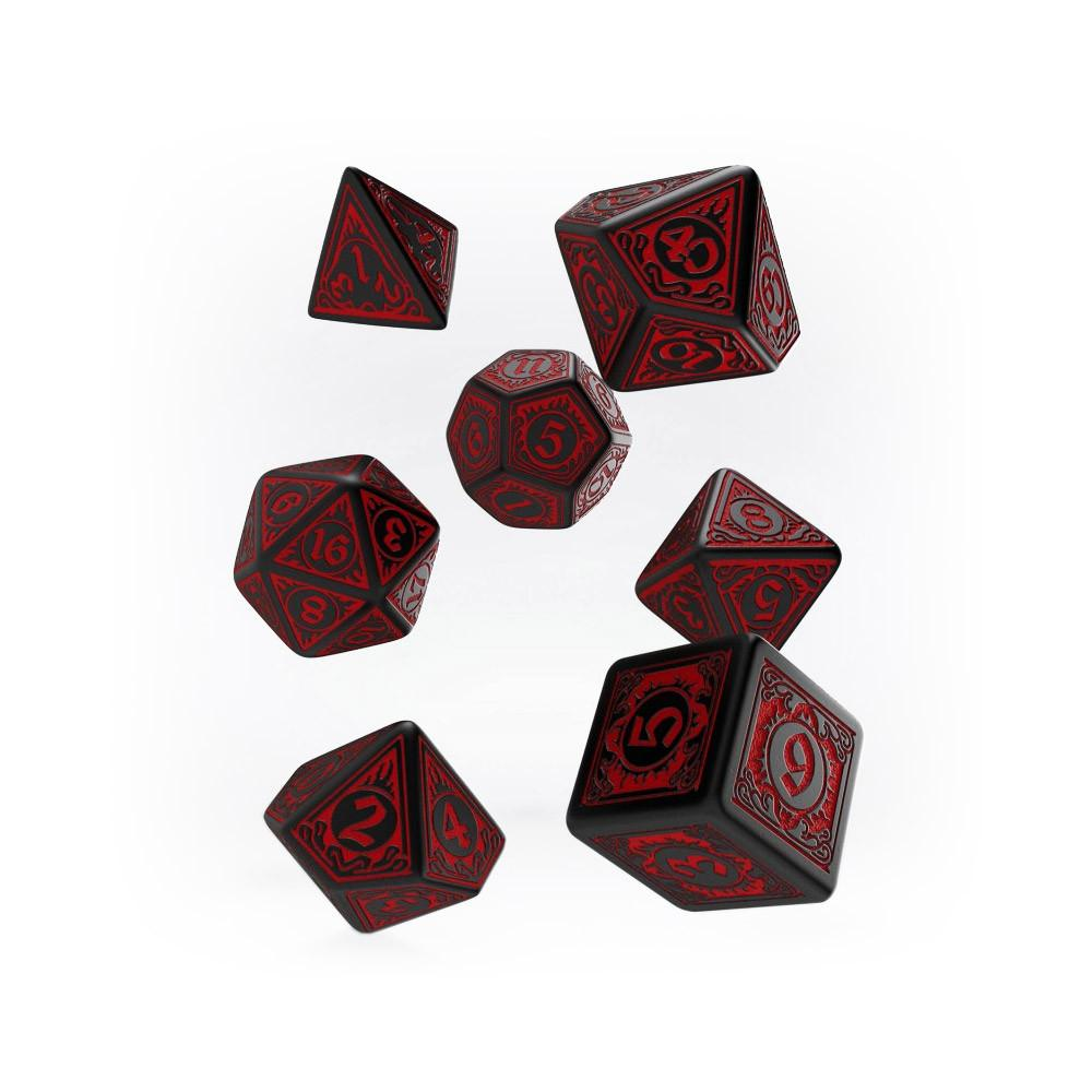 Pathfinder 7 Dice Set - Wrath of the Righteous - Imaginary Adventures