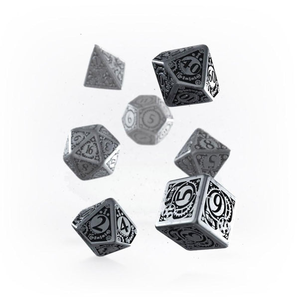 Q-workshop Metal Steampunk 7 Dice Set - Imaginary Adventures