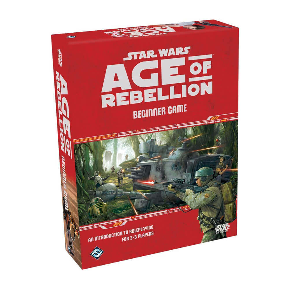 Star Wars Age of Rebellion Beginner Game - Imaginary Adventures