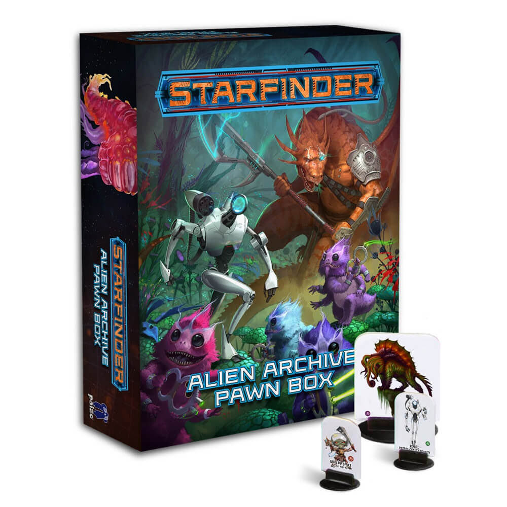 Starfinder Alien Archive Pawn Box - Imaginary Adventures