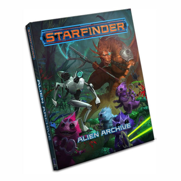 Starfinder Roleplaying Game: Alien Archive - Imaginary Adventures