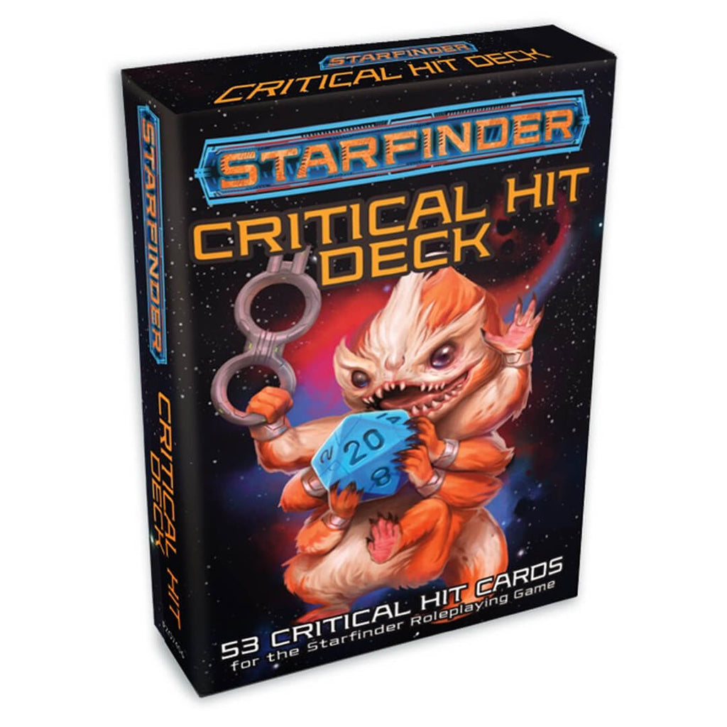 Starfinder Critical Hit Deck - Imaginary Adventures
