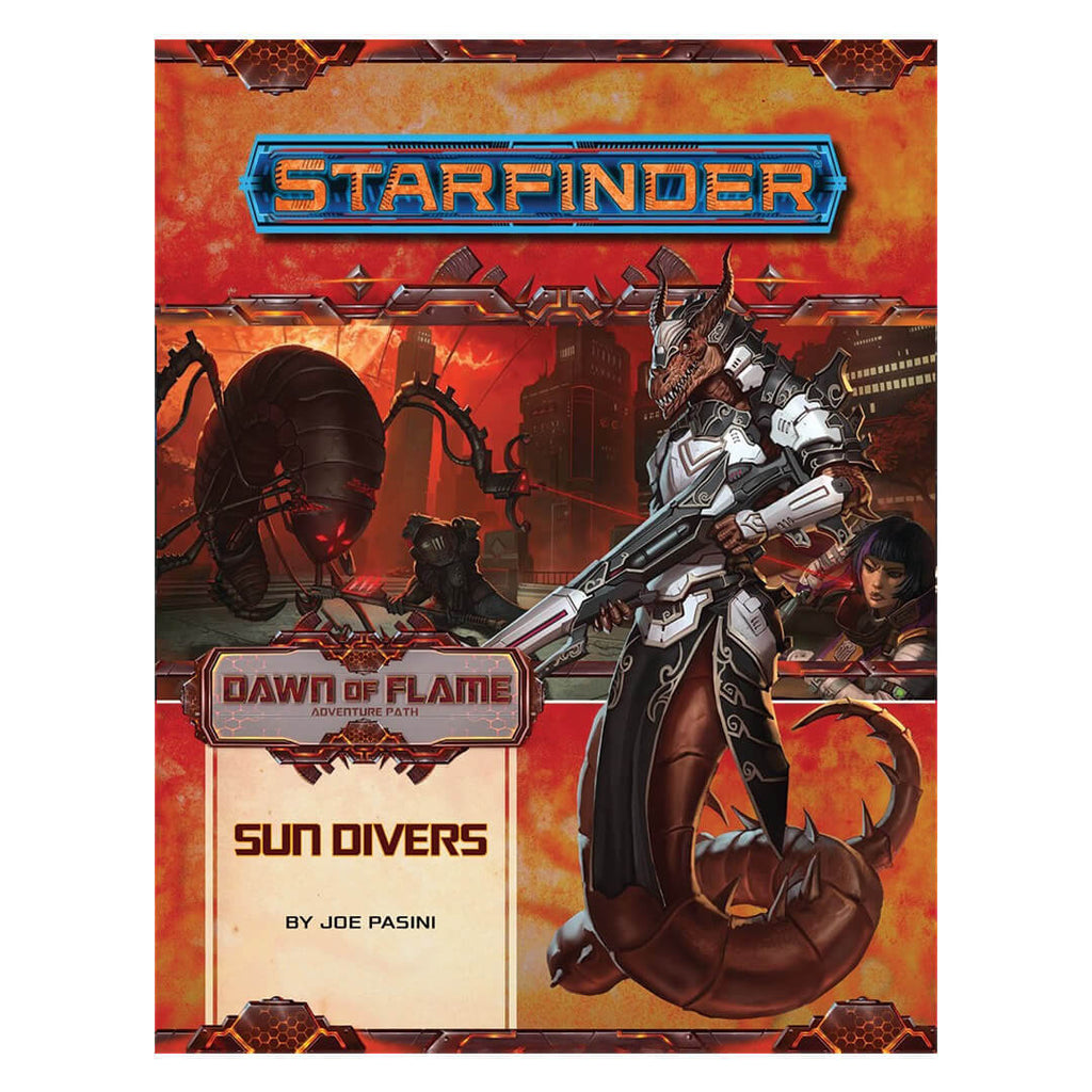 Starfinder Adventure Path - Dawn of Flame 3 of 6 - Sun Divers - Imaginary Adventures