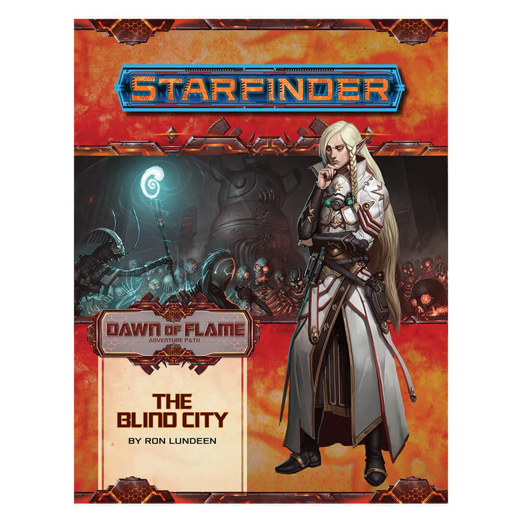 Starfinder Adventure Path - Dawn of Flame 4 of 6 - The Blind City - Imaginary Adventures