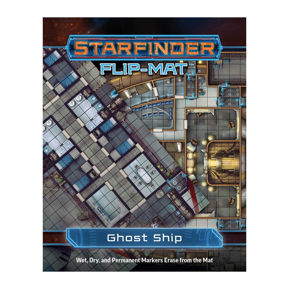 Starfinder Flip Mat Ghost Ship - PREORDER - Imaginary Adventures