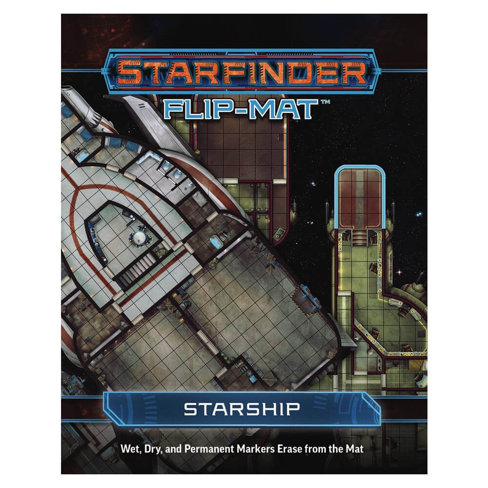 Starfinder Flip Mat Starship - Imaginary Adventures