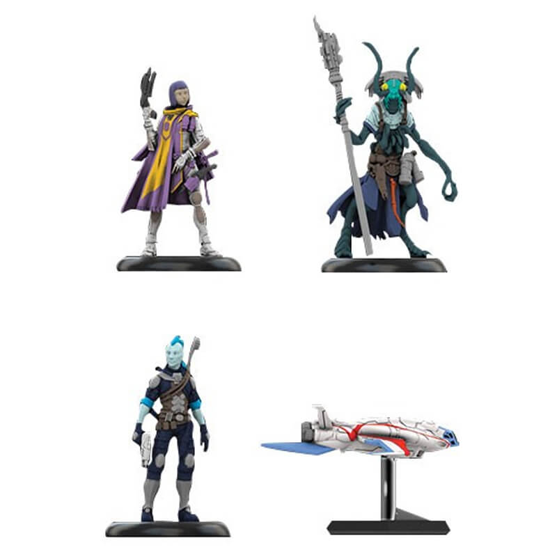 Starfinder Roleplaying Game: Pre-painted Miniatures - Iconic Heroes Set 1