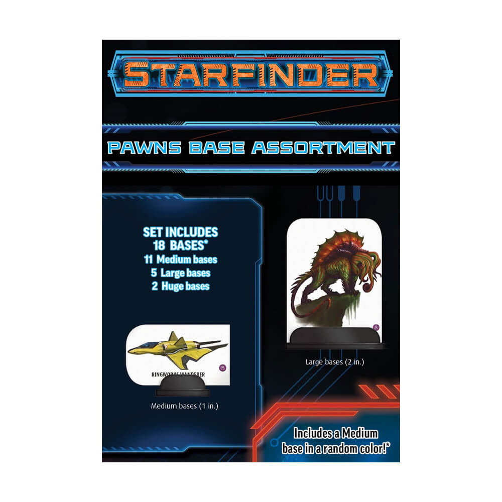 Starfinder Roleplaying Game Pawn Base Assortment - Imaginary Adventures