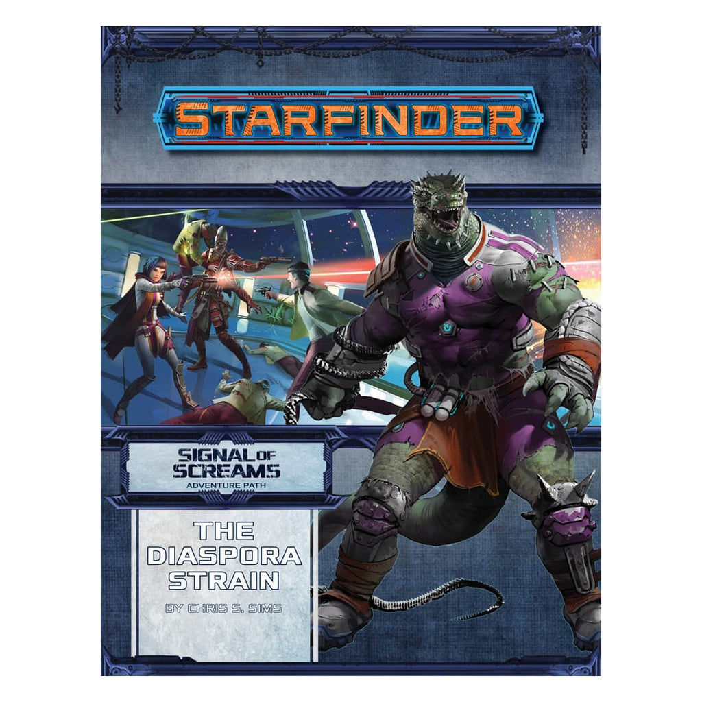 Starfinder Adventure Path - Signal of Screams 1 of 3 - The Diaspora Strain - Imaginary Adventures