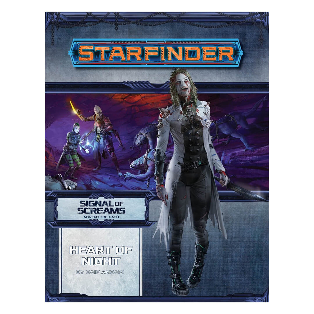 Starfinder Adventure Path - Signal of Screams 3 of 3 - Heart of Night - Imaginary Adventures