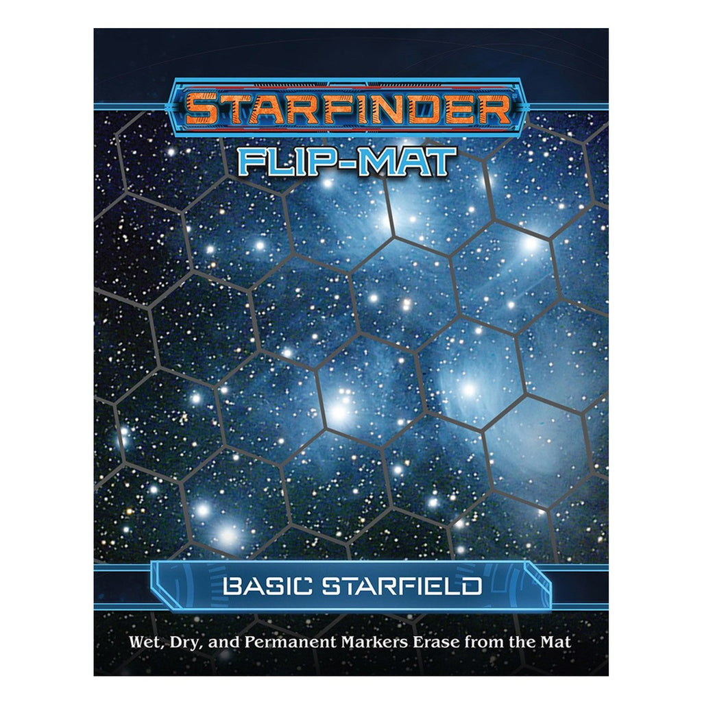 Starfinder Flip Mat Basic Starfield - Imaginary Adventures