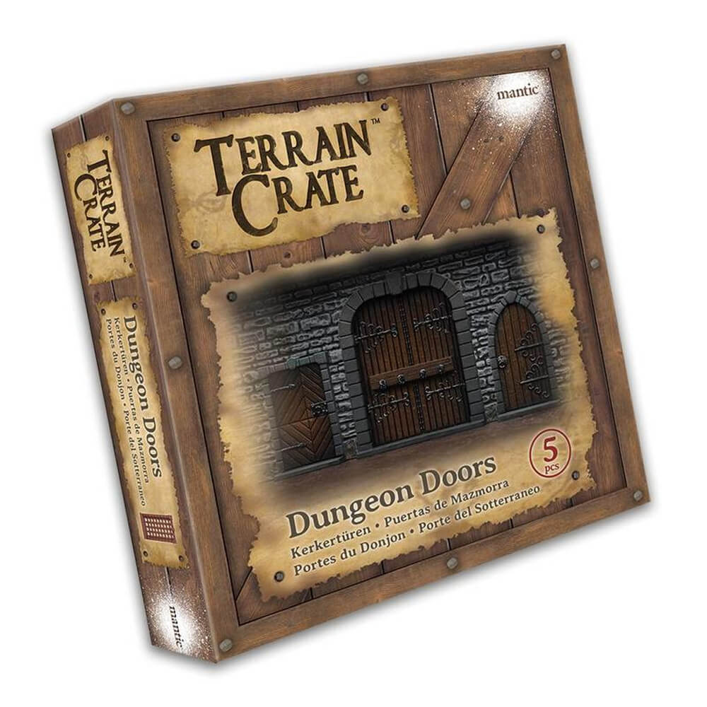Terrain Crate Dungeon Doors - Imaginary Adventures