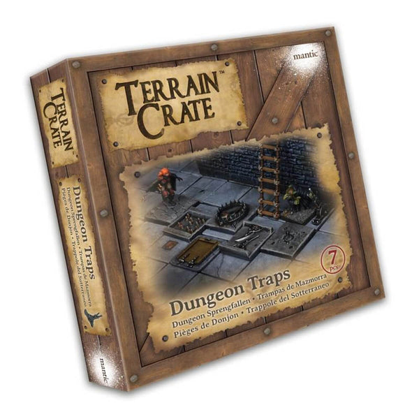 Terrain Crate Dungeon Traps Box