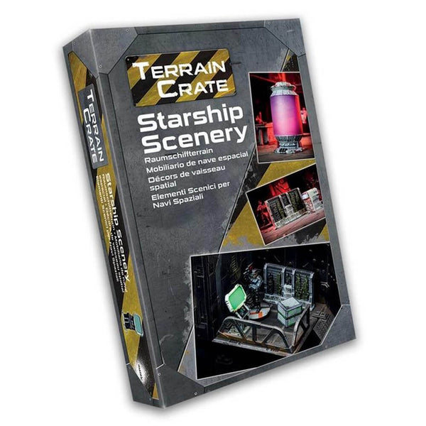 Terrain Crate Starship Scenery Box - PREORDER