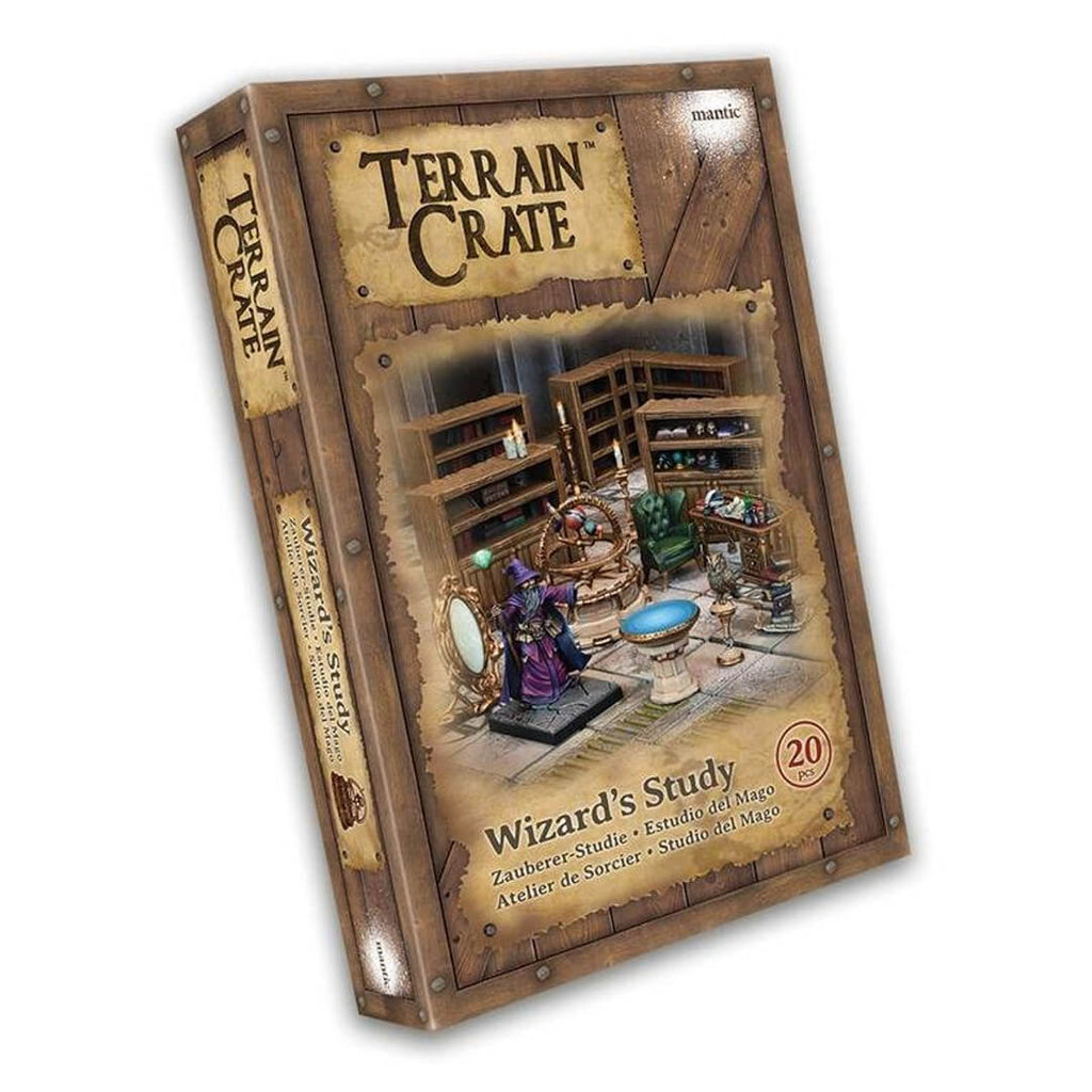 Terrain Crate Wizard's Study - Imaginary Adventures