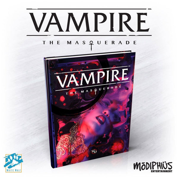 Vampire The Masquerade 5th Edition - PREORDER - Imaginary Adventures