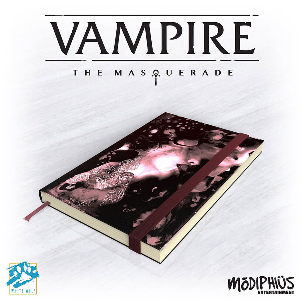 Vampire the Masquerade 5th Edition Notebook - Imaginary Adventures