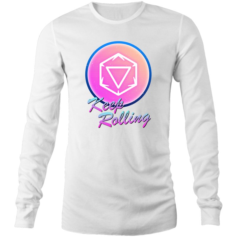 80's Keep Rolling - Long Sleeve Shirt - Imaginary Adventures