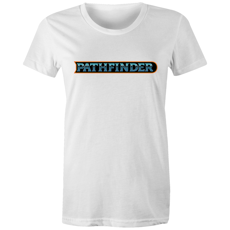 Pathfinder 80's Logo - Women's T-shirt - Imaginary Adventures