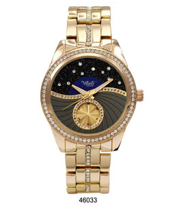 "M Milano ""Expressions"" Gold Metal Band Watch (Ladies)"