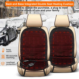 Audew 2-Pack Universal Car Heated Seat Cushions