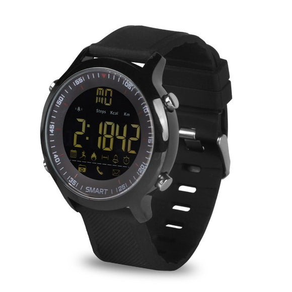 EX18 5ATM Waterproof Watch & Pedometer