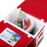 Multi Function Rolling Cooler Box Picnic Set