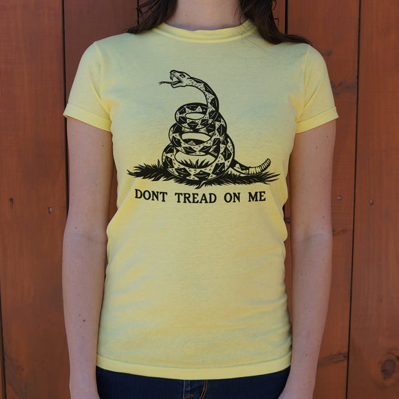 Don't Tread On Me T-Shirt (Ladies)