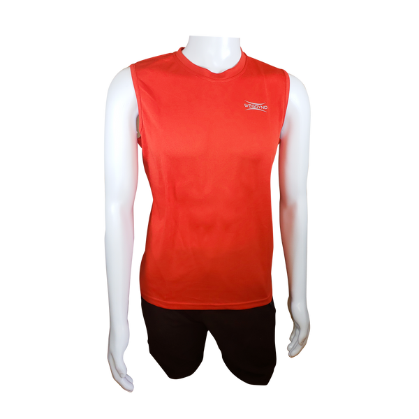Wegrynd Men's Moisture Wicking Sleeveless Technical Shirt