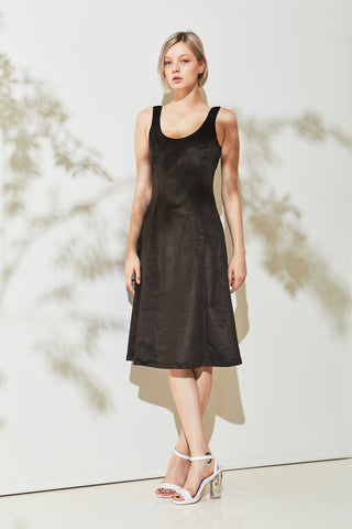 Bluff Dress - Darkest Green