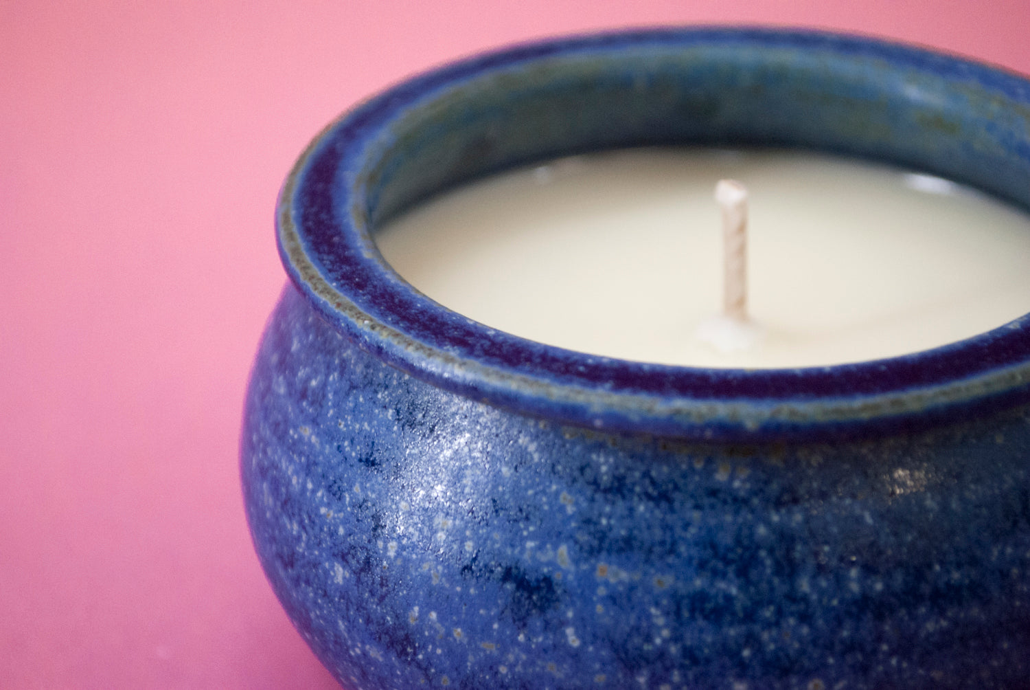 Rose Geranium Hand-Poured Soy Candle