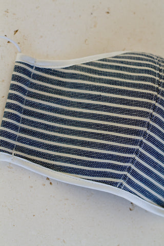 Face Mask with Elastic - Stripe