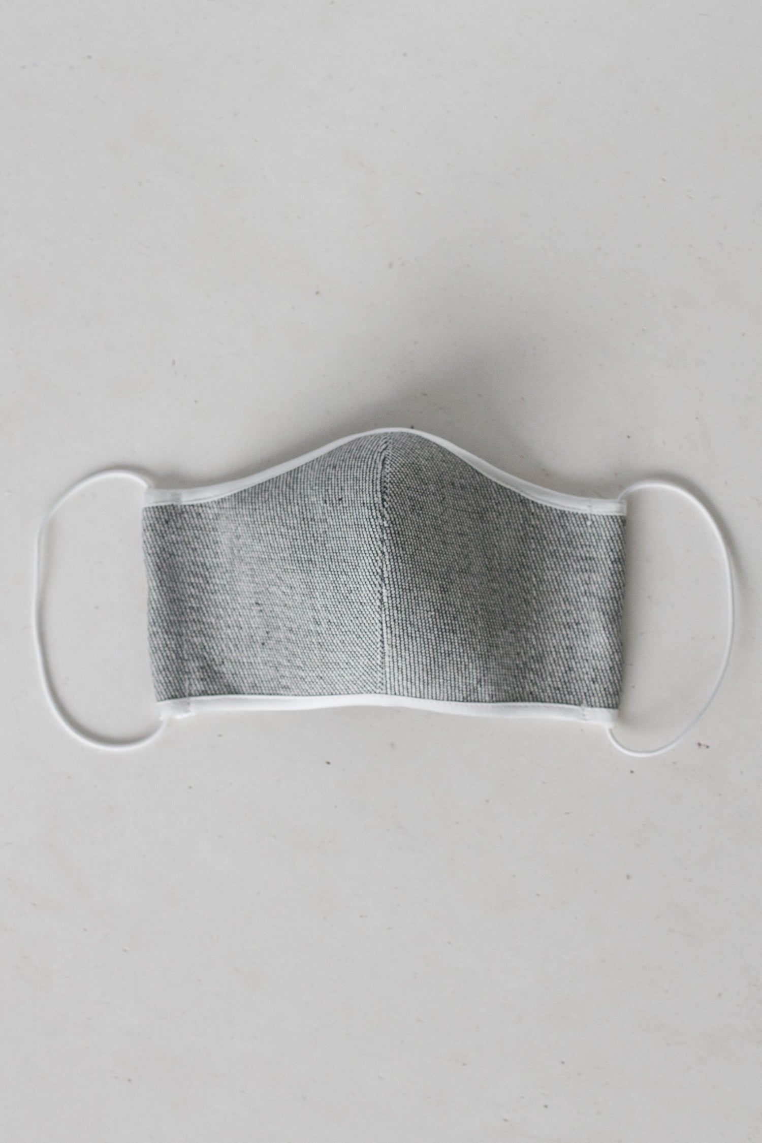 Face Mask with Elastic - Light Denim