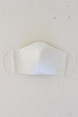 Face Mask with Elastic - Off-White