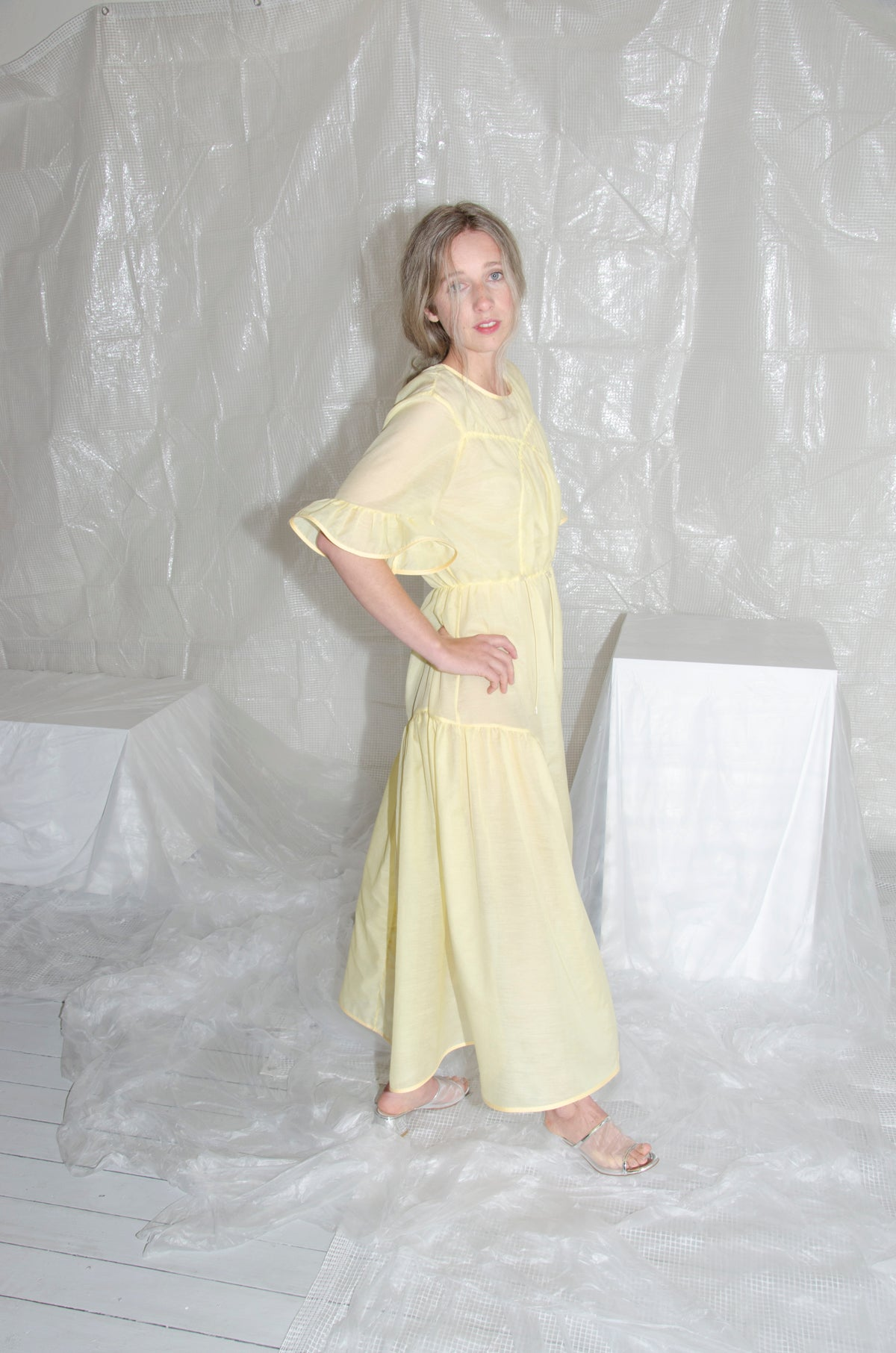 Lemon Daedal Dress