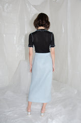 Powder Blue Detachable Frill Skirt