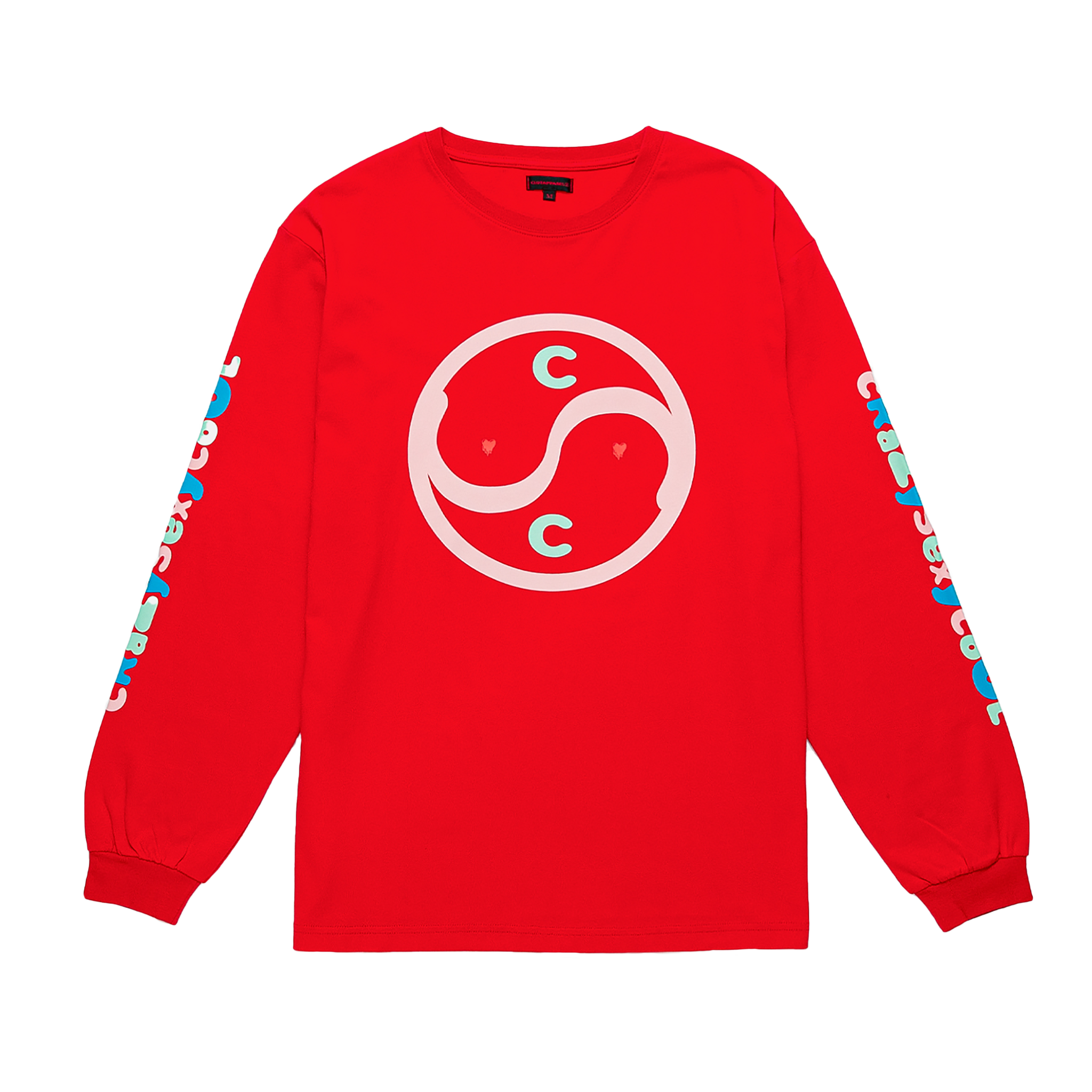 Clot X EU Crazy Sexy Cool L/S, Red