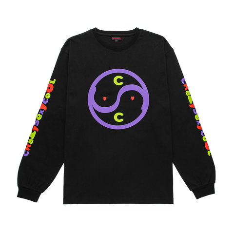 Clot X EU Crazy Sexy Cool L/S, Black