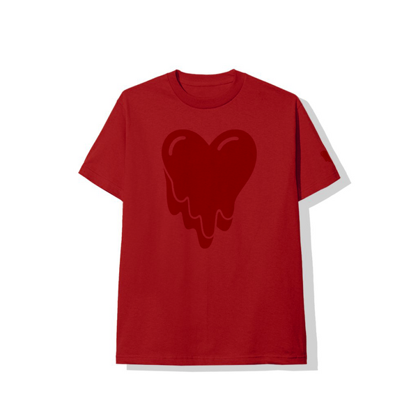 Heart Logo Red Tee