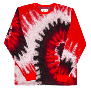 Digital Die Knit Sweater, Red