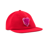 HEART LOGO HAT - RED