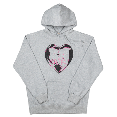 She Knows Sweat Hoodie, Light Grey