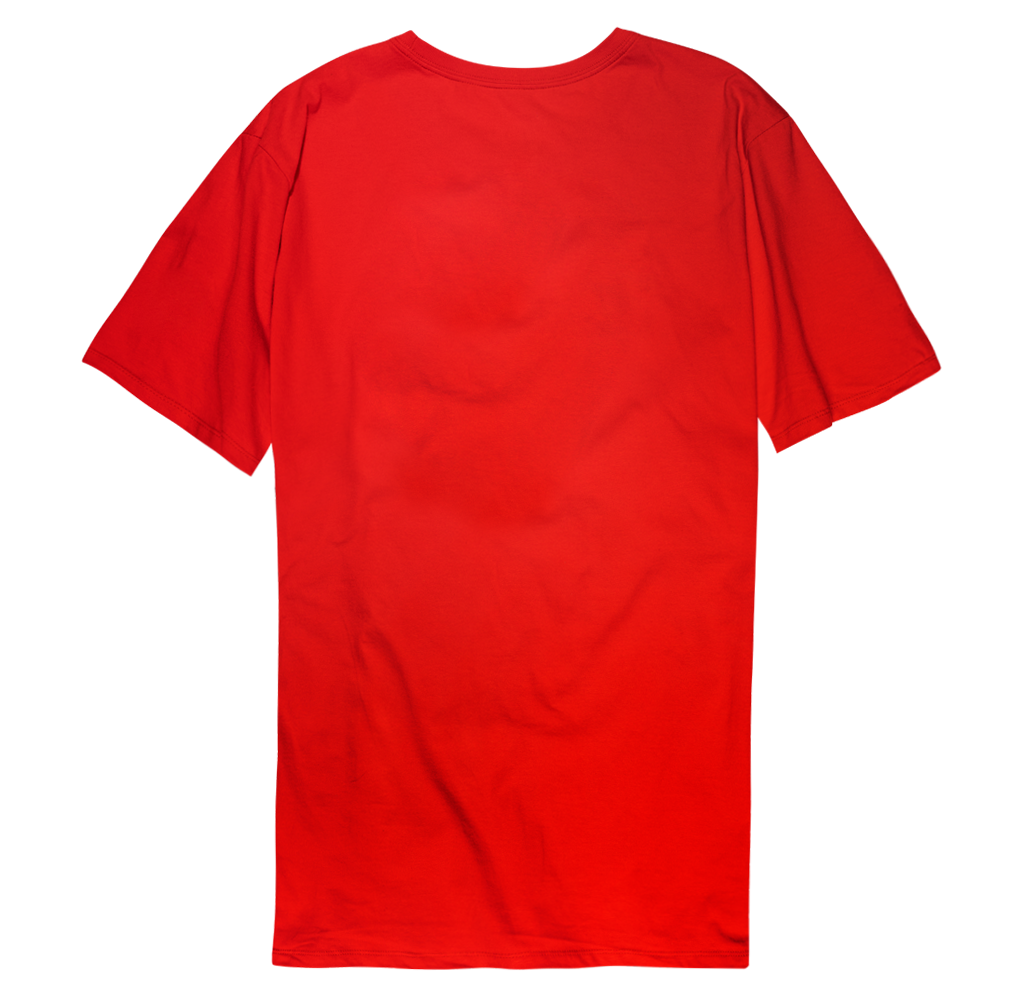 WORD MARK LOGO TEE - RED