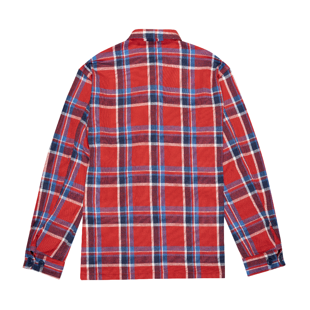 REVERSIBLE BDU LUMBERJACK - RED/BLUE