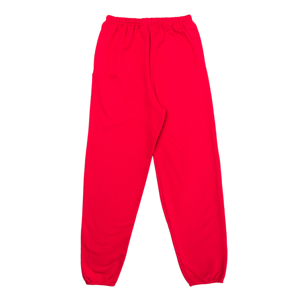 WORDMARK LOGO SWEATPANT - RED