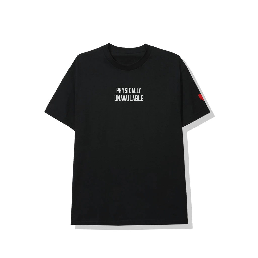 Physically Unavailable Black Tee